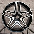 22 Mercedes Benz wheels for GL450 GL550 ML63 ML350 ML500 ML55 Black Machine