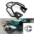 1x Motorcycle Armrest Rear Shelf Scooter Refitted Box Tail Fin Luggage Rack Set