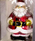 "Radko  Large 5"" Tall Christmas Ornament Santa Claus !"