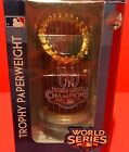 2009 New York Yankees World Series Trophy Paperweight By Forever Collectibles