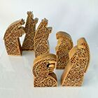 Nativity Set Wood Look The Promise of Christmas Robert Stanley 6 Pc 2015