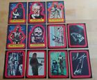 1977 Topps Star Wars Red Series 2 Complete 11 Sticker Set ex to nm