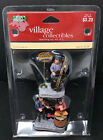 Lemax Village Collectibles WARMING UP Set 2 Violin Cello Musicians Retired Rare!