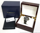 Huge Ulysse Nardin Maximarine 1503-151 Diver Chronograph Mens Watch Box Papers