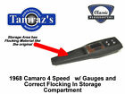 1968 Camaro 4 Speed Trans Center Console Kit w Gauges PREASSEMBLED Style