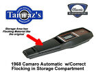 1968 Camaro Power Glide Trans Center Console Kit w Flocking PREASSEMBLED Style
