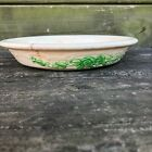 vintage HOMER LAUGHLIN embossed PIE PLATE oven serve USA stoneware DISH