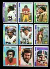 1978 TOPPS FOOTBALL LOT OF 500 MINT *INV1945
