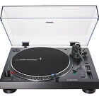Audio Technica Direct Drive Turntable Analog  USB AT LP120XUSB BK Black