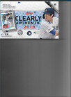 2019 Topps Clearly Authentic Baseball Hobby box sealed 1 encased auto acetate