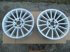 2 GENUINE BMW 528i 535i 550i 640i 650i 18 INCH WHEELS RIMS 237 6774407 OEM