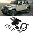 Trailer Hitch Receiver 2  Wire Harness Kit for 24 Jeep Wrangler JK 2007 2018