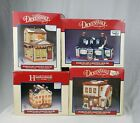 Lemax Dickensvale Collectibles Lot Of 4 Porcelain Christmas Village Collection
