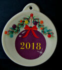 2018 FIESTA Mulberry Christmas Holiday Ornament RETIRED NEW in Package w/ Tags