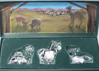 3 pc Waterford ANIMALS OF THE NATIVITY Camel Cow Donkey BOXED