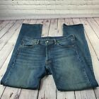 Levis 501 XX Vintage Mens Jeans Straight Leg Med Wash Size 34x32 Leather Tab