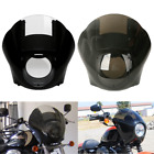 Smoke Clear Quarter Fairing Windshield For Harley Sportster XL 883 XL 1200 88 Up