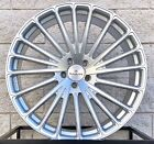 22 Rayanni RA20 Wheels For Mercedes Benz S550 S63 CL550 CL63 Silver Concave