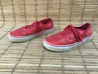 WOMENs VANS OFF THE WALL RUBY SEQUIN SNEAKERS SIZE 7 NICE