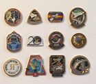 LOT of 12 NASA LAPEL PINS Space Shuttle STS Missions Skylab Astro 1 Apollo +++