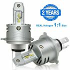 AUXITO H4 HB2 9003 LED Headlight 16000LM High Low Beam 6500K Bulbs Directly Plug