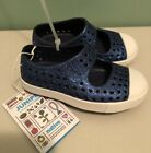 NEW Native Shoes Mary Jane Juniper Bling Girl Size C5 Toddler Blue Glitter NWT