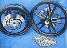 Harley Davidson FXD Dyna Super Glide Factory Wheels Rotors Pulley Bearings Nice
