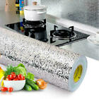 3M Self Adhesive Aluminum Foil Kitchen Cabinet Wall Sticker Wallpaper Oil proof