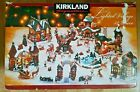 Kirkland Signature 32 Piece Porcelain Lighted Village Christmas Holiday TESTED