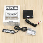 HKS Digital Auto Type 0 Turbo Timer With LED Display Logo Universal Black