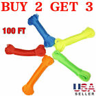 100FT Plastic Clothes Line Household Outdoor Dry Laundry Rope String Multi Use