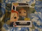 BRIDE OF CHUCKY HOT TOPIC EXCLUSIVE #315 FUNKO POP WITH POP PROTECTOR NEW!