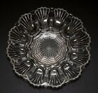 Deviled Egg Plate Dish Clear Glass 12 Eggs Vintage