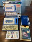 Vintage Vtech Pre Computer 1000 W Course Book  Cartridge 1989 Learning Rare