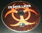 28 Days Later Widescreen DVD 2003 ZOMBIE HORROR DISC ONLY NO CASE FREE SHIPPING