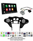 Sony XAV-AX7000 Double Din Install for 98-13 Harley Davidson Batwing Fairing