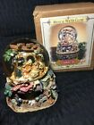 Grandeur Noel Musical Nativity Water Globe 1999 Collectors Edition With Box