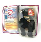 TY McDonald's Teenie Beanie Babies THE END Bear