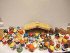 Fisher Price Large Lot of 46 Little People Nativity Disney Zoo Animals