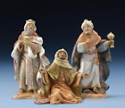 Fontanini by Roman Kings Nativity Set 3 Piece 5 Inch Each