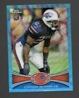 Bonus Blue Wave Refractors for 2012 Topps Chrome Football Redemption Cards 11