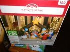 Christmas Air Blown Inflatable Yard Garden Decoration Nativity Scene 6 1 2