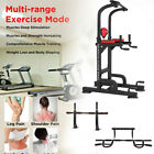 Pull Up Power Tower Workout Equipment Dip Station Gym Training Stretch Machine