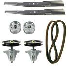 Lawn Mower 46 Deck Blade Spindle Kit for MTD Craftsman T1600 T1900 Riding Mowers
