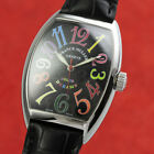 Franck Muller Color Dreams Automatik Stahl Herrenuhr Ref. 7851SC VP: 23600,- €