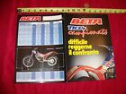 N.O.S BETA TRIAL TR 34 CAMPIONATO BROCHURE 260 240 125 50 TECHNO ALP GARA TY IT