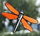 Stained Glass Leaded Glass Window Mural Faceted Dragonfly Suncatcher IN