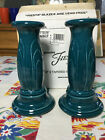 HLC Fiesta Juniper Tapered Candle Holders Millennium Y2K~ New in Box