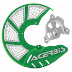 Acerbis X-Brake Vented DiscCoverMount Green/-Fits:KTM 400 EXC 4 Stroke 2003-2007