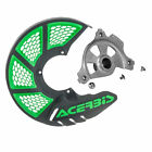 Acerbis X-Brake Vented DiscCover Mount/Green-Fits:KTM 400 EXC 4 Stroke 2003-2007